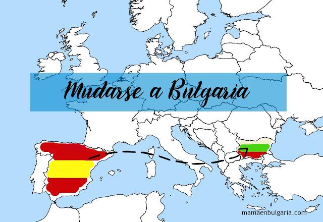 Mudarse Bulgaria España mapa