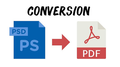 Convertir PSD en PDF online y GRATIS