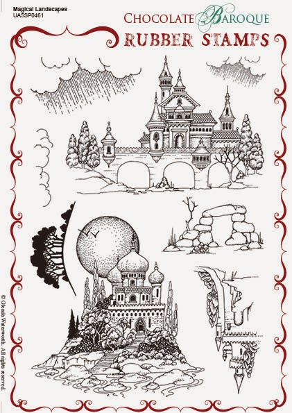 http://www.chocolatebaroque.com/Magical-Landscapes-Unmounted-Rubber-stamp-sheet--A5-_p_5873.html