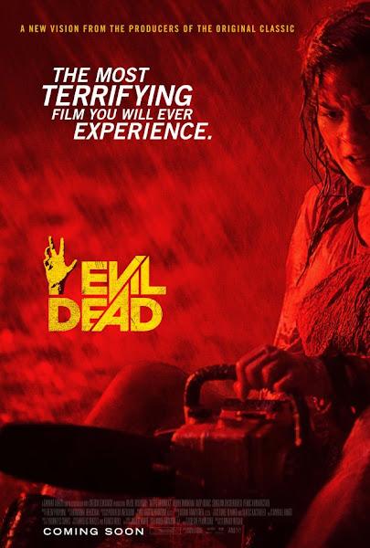 Poster Of Evil Dead 2013 Hindi 720p BRRip Dual Audio Full Movie Download