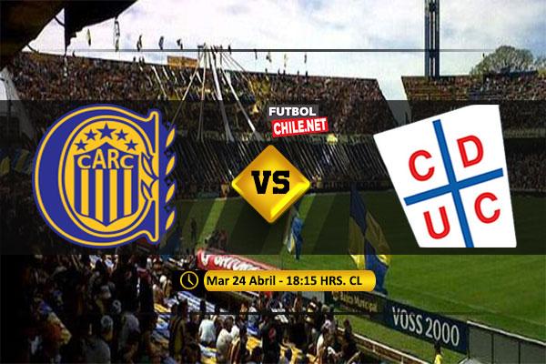Mira Rosario Central vs Universidad Católica en vivo y online por la Fecha 5 del Grupo H de la Copa Libertadores