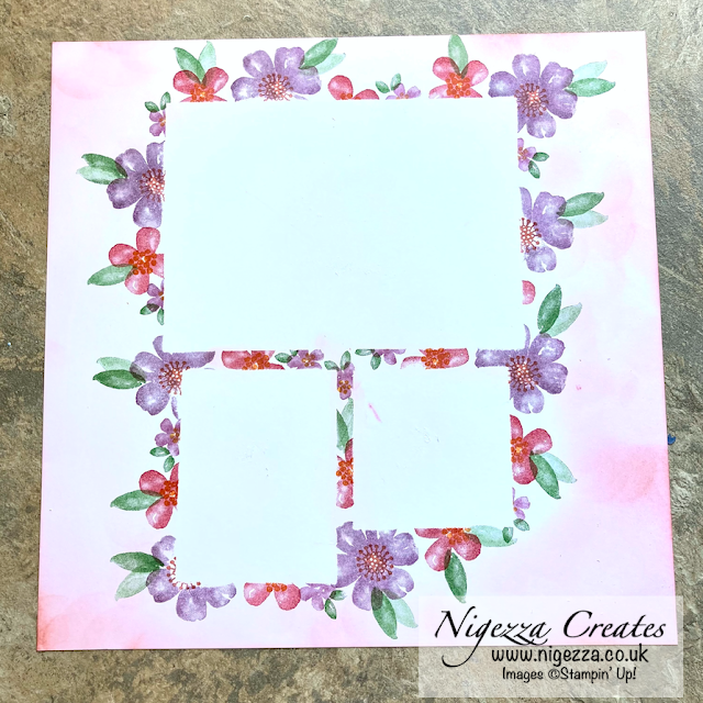 #simplestamping Scrapbook Page Using Pretty Perennials