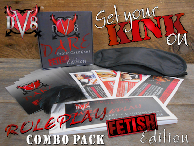 DV8 Dare Erotic Roleplay Fetish Edition Combo Pack