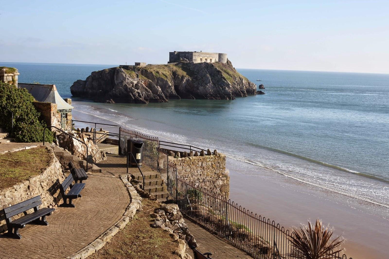 West Wales coastline
