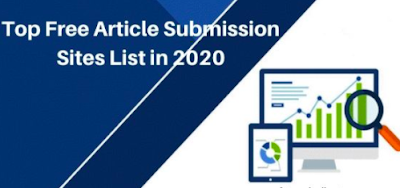 Top Article Submission Sites 2020