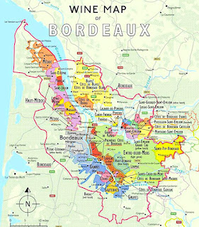 Covering all parts of the Bordeaux both left bank and the right bank with all the AOC growing regions