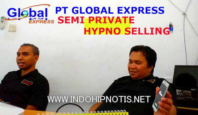 pt global express - pelatihan hipno selling