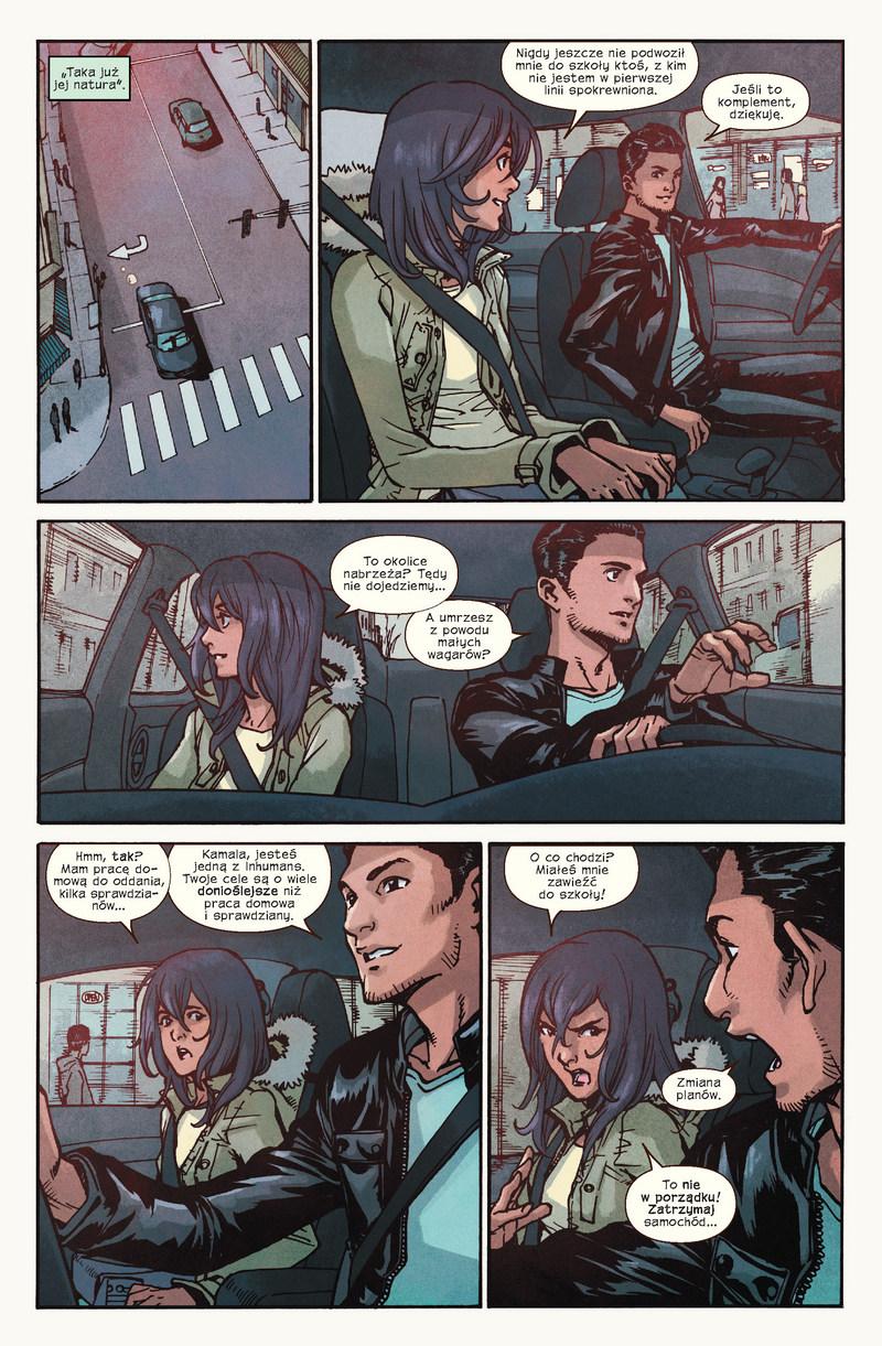 Ms Marvel tom 3: Zdruzgotana przykładowa strona