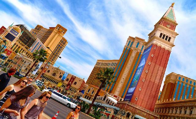 Mala para o verão em Las Vegas