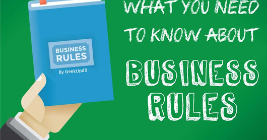 Business Rules Extraction: An Overview