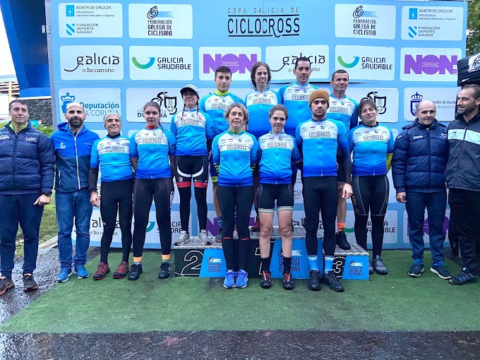 Saúl López y Laura Capa consiguieron el triunfo en la Copa Galicia de Dumbría