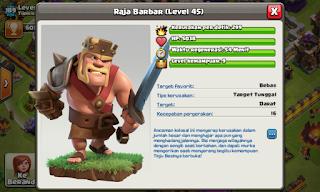 Barbarian King level 45