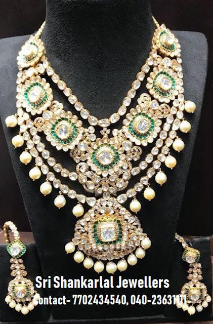 Polki Bridal Necklace by Shankarlal