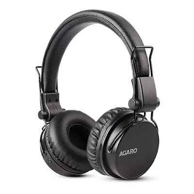 AGARO - 33327 Fusion On-Ear Bluetooth Headphones | Best Bluetooth Headphones in India Under 2000 | Best Bluetooth Headphones Reviews