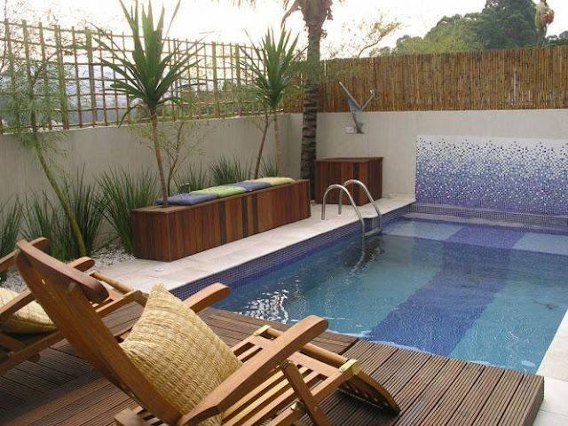 Dise os novedosos de piscinas decoraci n del hogar - Diseno de piscinas ...
