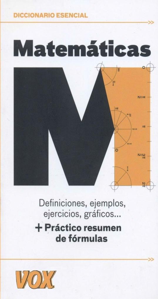 Diccionario Esencial de Matemáticas