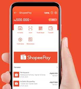kenapa tidak muncul kode pembayaran shopeepay