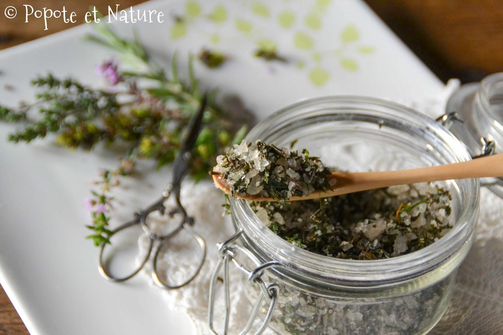 Popote et nature herbes sal es du jardin ou que faire - Comment conserver des carottes du jardin ...