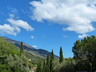 Paysages autour de Corte - Corse - France - Les environs de Corte