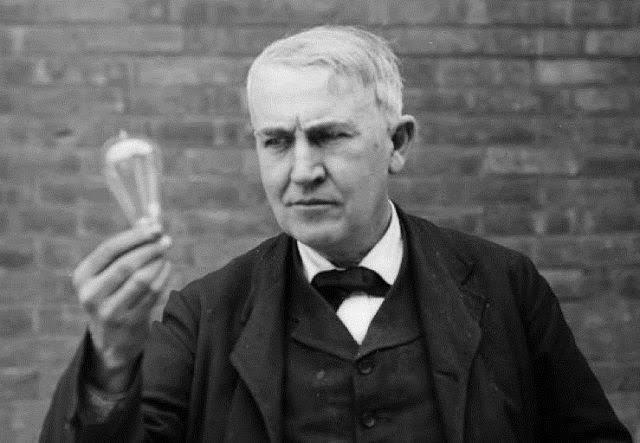 Sang inventor penemu bola lampu listrik