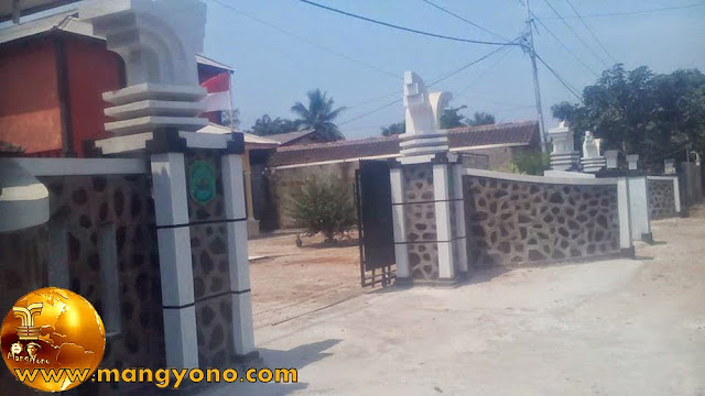 Megahnya Gapura dan pagar Desa Mulyasari . Poto ini hasil jepretan Kang Ian Susanto - Facebooker Subang ( FBS )