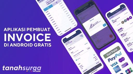 Aplikasi pembuat invoice dan kwitansi penjualan gratis di android
