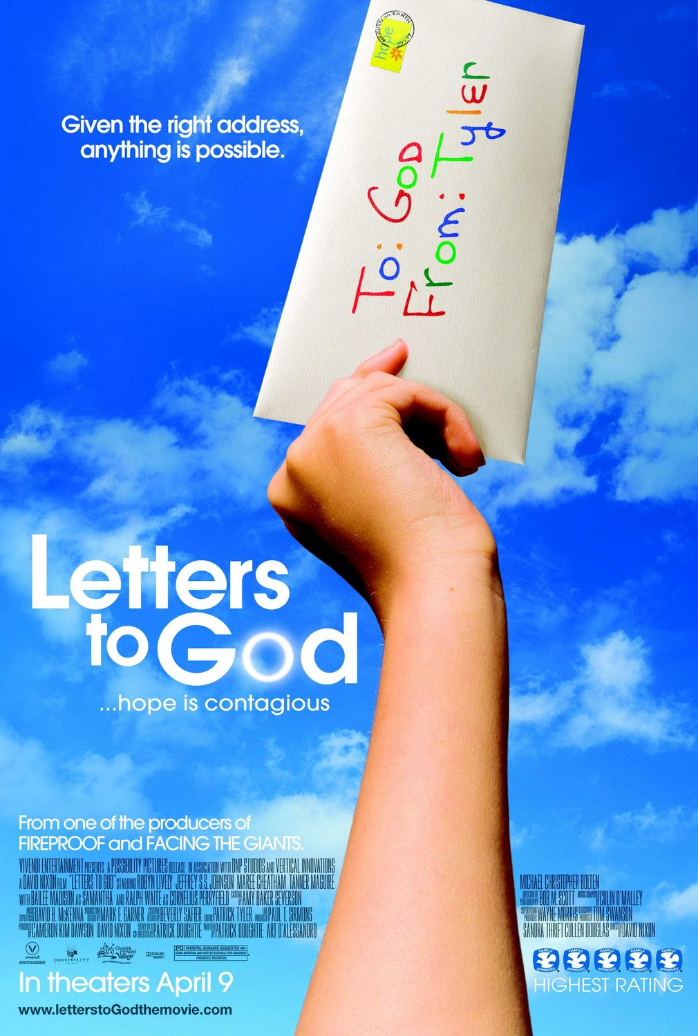 Letters To God (2010) ταινιες online seires xrysoi greek subs