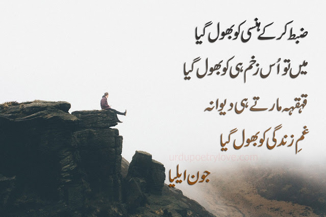 jaun elia death poetry