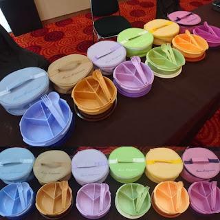 Galeri Bento Round Set Twin Tulipware