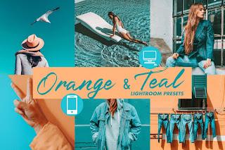 Preset Lightroom   5 Preset Orange Theme & Gold Skin Gratis   Free Presets Lightroom