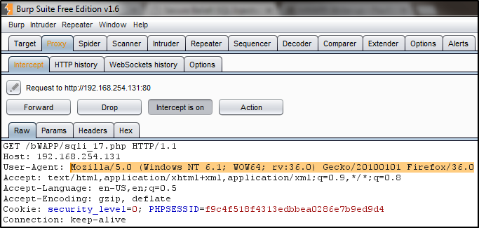 SQL Injection through HTTP Headers | popped io