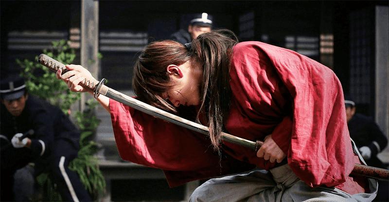 Himura Kenshin diperankan oleh Takeru Satoh