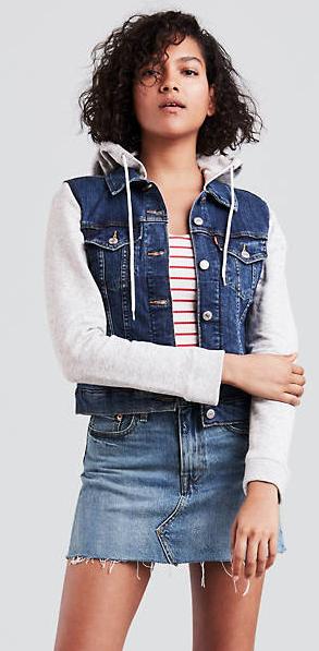 Levis Women's Hybrid Jean Jacket