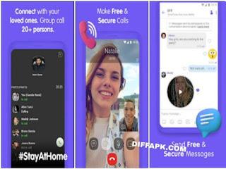 Viber Messenger Apk v13.1.0.4 [Patched] MOD