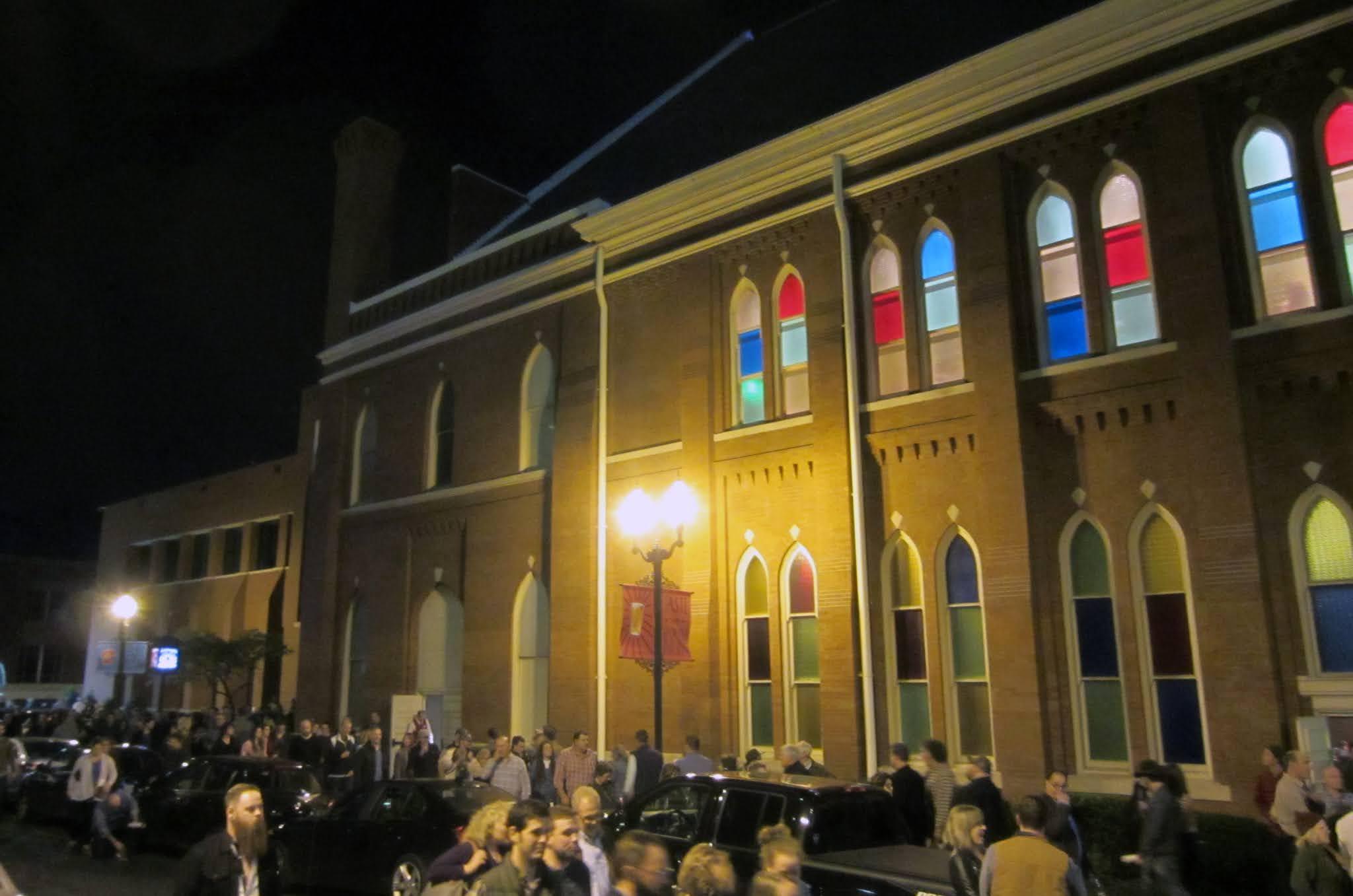 Exterior of the Ryman Auditorium