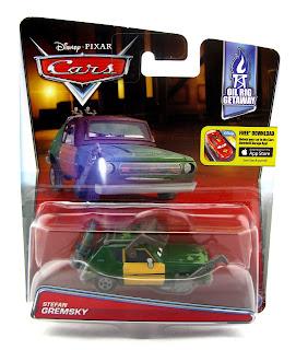 disney pixar Cars 2 Stefan Gremsky