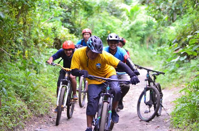 Komunitas Gowes SIMBA, Perkenalkan  Trek Wisata Sepeda Sekawan Sejati.