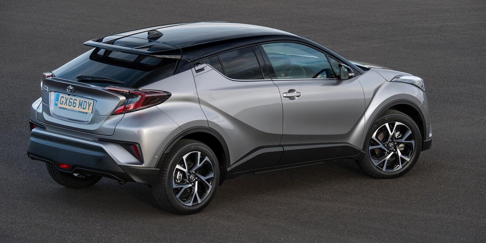 Toyota C-HR 2017 sẽ tạo nên cơn sốt trên thị trường xe?