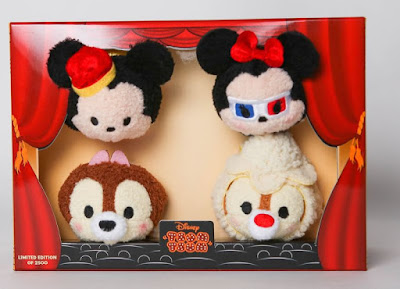 San Diego Comic-Con 2016 Exclusive Mickey's Movie Theater Tsum Tsum Plush Set by Disney