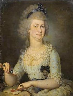 Portrait de Dame, Barbara Krafft