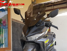 Tutorial Cara memasang Spion Yamaha R25 Di Honda Vario 150