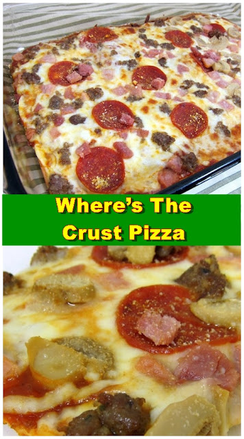 Where's The Crust Pizza