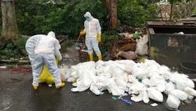 Limbah Medis COVID-19 Kembali Dibuang Asal, Kali Ini di Kota Bogor