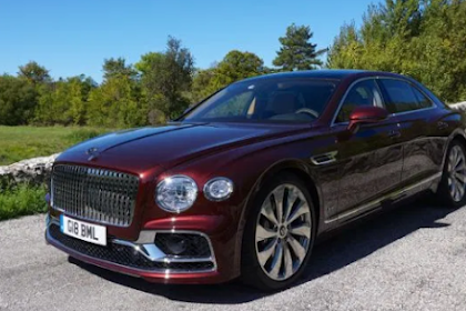 Bentley's all-new Flying Spur is the lavish commuter car for the one-percent