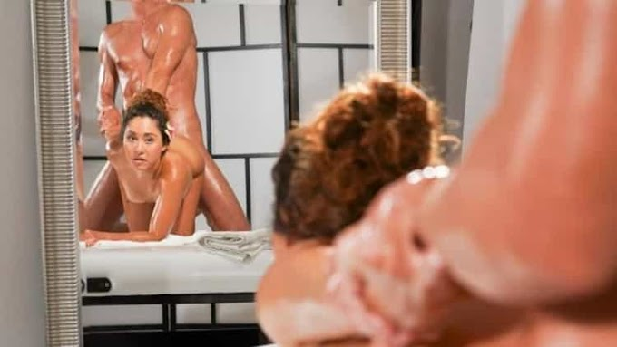 Melody Petite in Cute Mexican gets cowgirl creampie - Massage Rooms