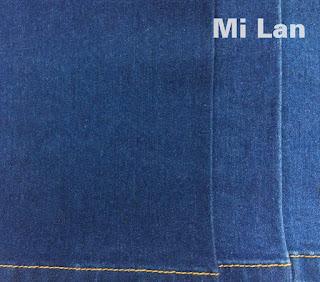 Vải jean thun bé gái W71