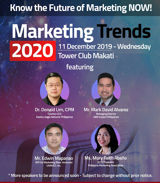 Marketing Trends 2020 | Marketing Seminar Philippines