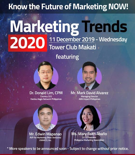 Marketing Trends 2020 | Marketing Seminar Philippines