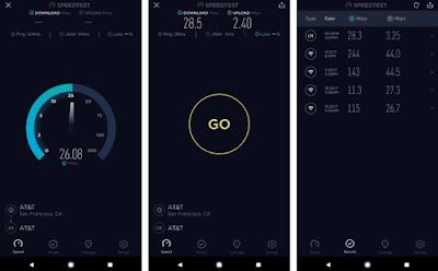 قياس سرعة الانترنت adsl, تطبيق Speedtest.net للأندرويد, قياس سرعة النت الحقيقية, تطبيق Speedtest.net مدفوع للأندرويد, قياس سرعة النت الحقيقية بالميجا