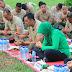 Brigif 13 Kostrad Peringati Hari Juang TNI AD Dengan Syukuran dan Jalan Santai